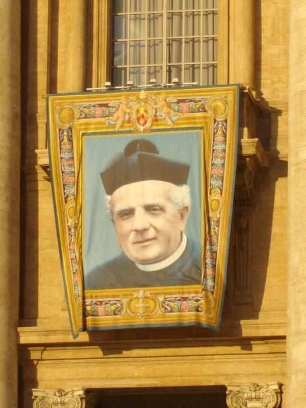 DON GUANELLA SANTO ROMA 23 OTTOBRE 2011